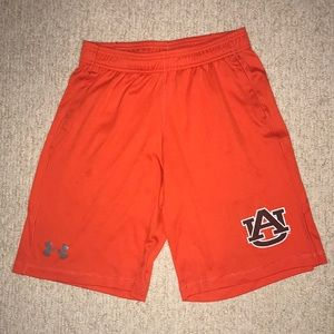 Junior's Auburn Under Armour Athletic Shorts